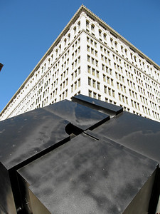Cubic Perspective II, Cooper Square, East Village, New York City, 2007