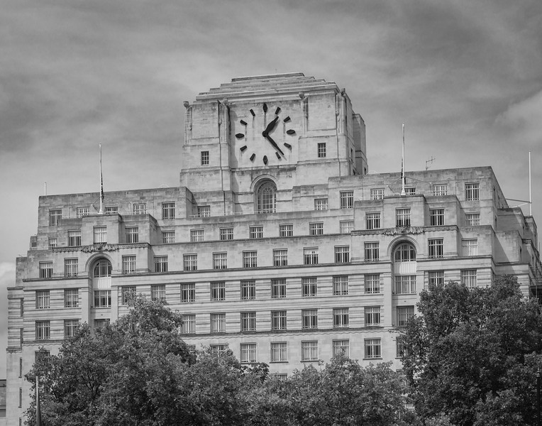 Whitehall in Shades of Grey.
