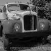 Old Mack Truck - Black and White