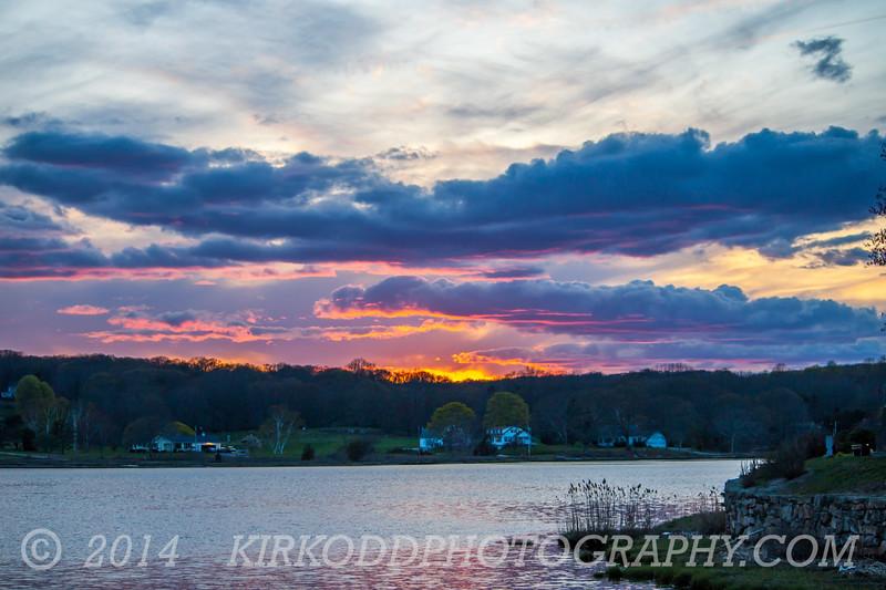 Mystic River Sunset
