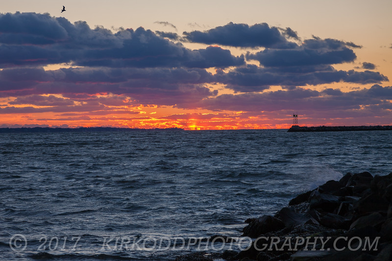 Stonington Point Sunset