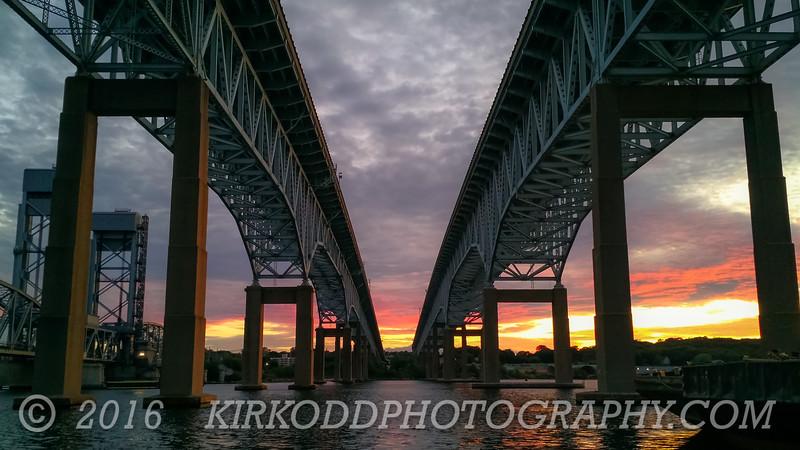 Goldstar Bridge Sunset 2016