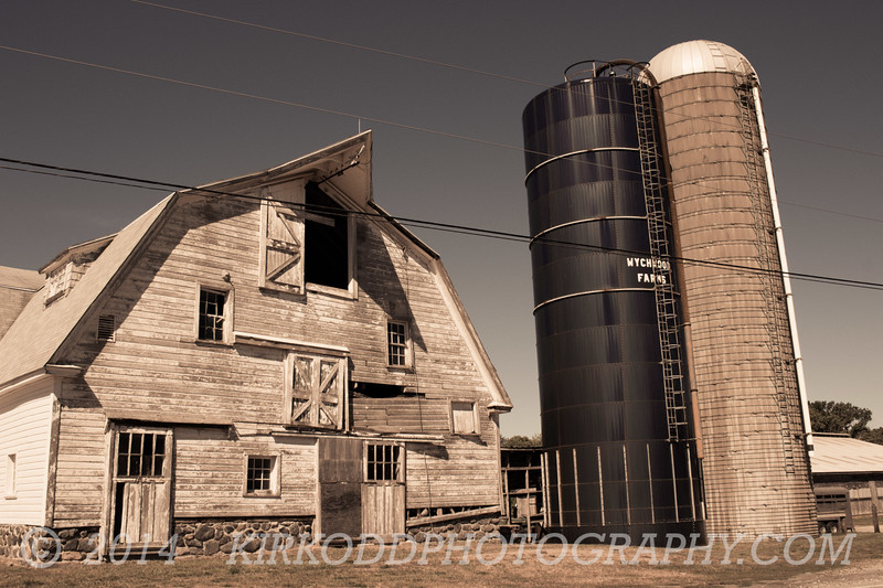 Old Farm Silos - North Stonington Ct