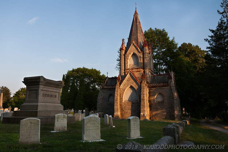 Denison Family Grave Site - Stonington Cemetery