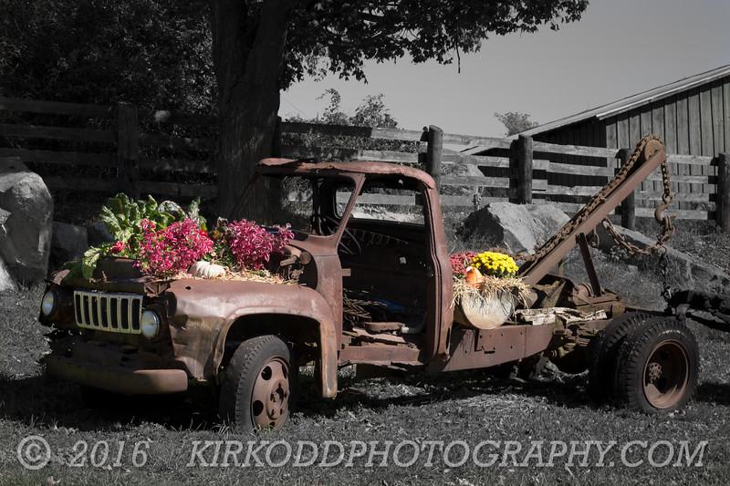 Autumn Tow Truck