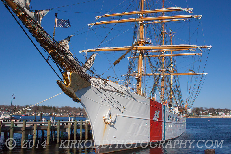 USCGC Eagle in New London