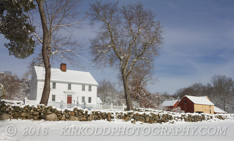Nathan Lester Farmhouse in Winter