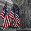 American Flags - Selective Color