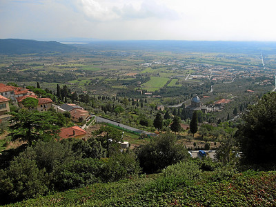 View from Volterra, Italy