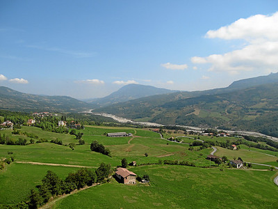 View from Castle di Bardi, Bardi, Italy