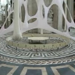Léviathan Thot, by Ernesto Neto. Le Pántheon, Paris, France, 2006 - Brief video clip of art installation within.