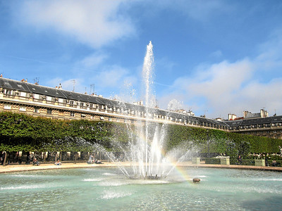Palace Fountain's Rainbow, Paris, France 2006