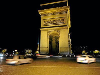 Arc de Triomphe - Paris, France 2006