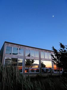 Great South Bay, House Sunset Reflection, Fair Harbor, Fire Island, NY