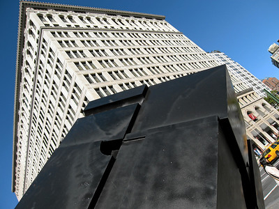 Cubic Perspective, Cooper Square, East Village, New York City, 2007