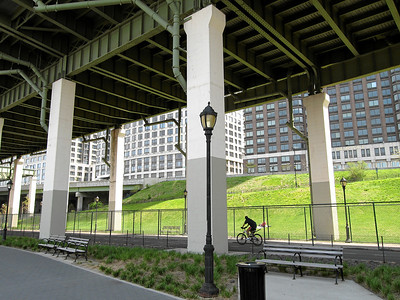 Hudson River Park, 68th street entrance, New York City, Spring 2008