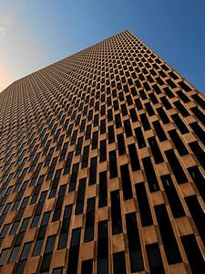 """A Big Mesh"" ,  New York Skyscraper, Downtown Manhattan, November 2007"