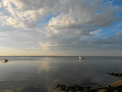Great South Bay IV, view from Fair Harbor, Fire Island, NY