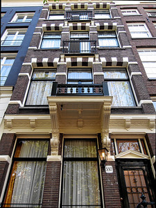 Ambassade Hotel, Amsterdam, Netherlands September 2006
