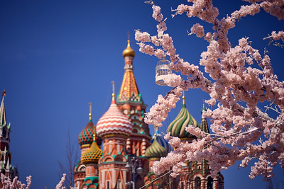 May in Moscow