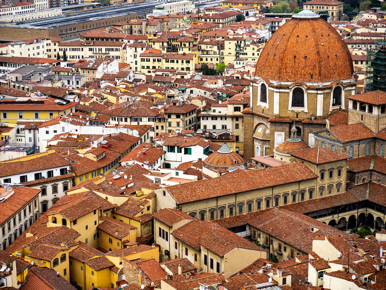 View from Duomo