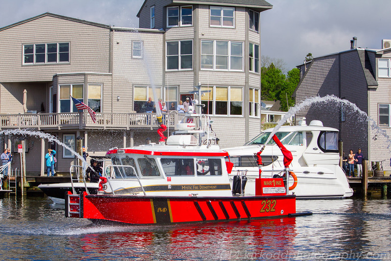 Mystic Fire Department Boat