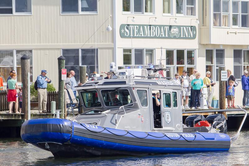 Groton Police Boat