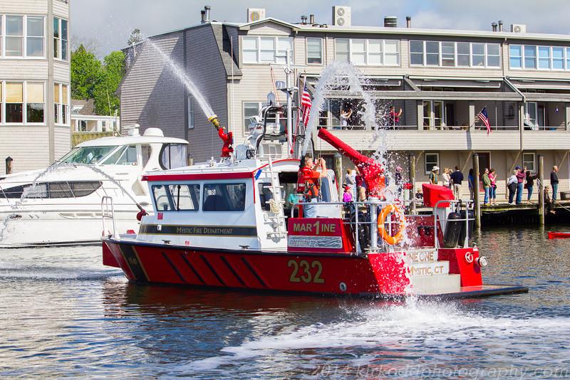 Mystic Fireboat