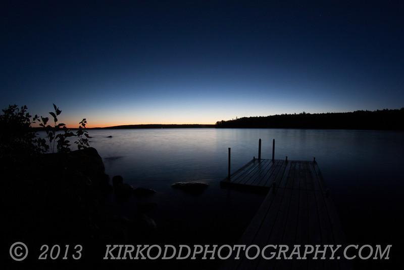 Branch Lake Dawn