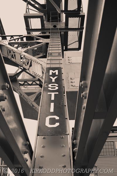 Mystic Drawbridge Sign