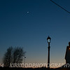 Sliver Moon Sunset