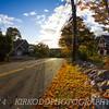 Autumn Road in Mystic