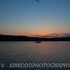 Mystic River Landscape Sunset - Wide Angle