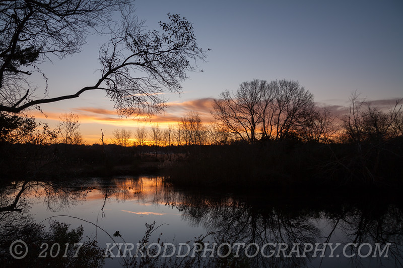 Pawcatuck River Wildlife Area Sunrise #2