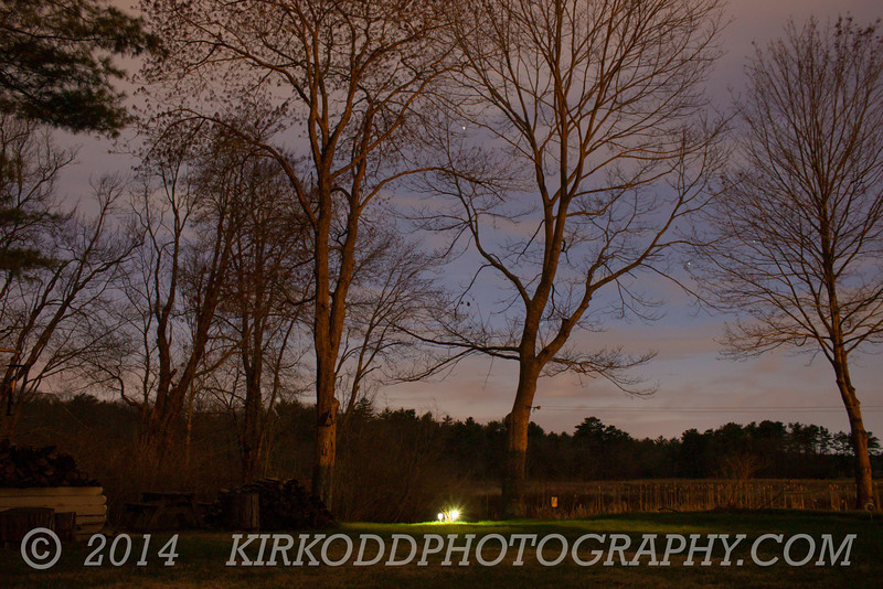 Marsh Sky at Night