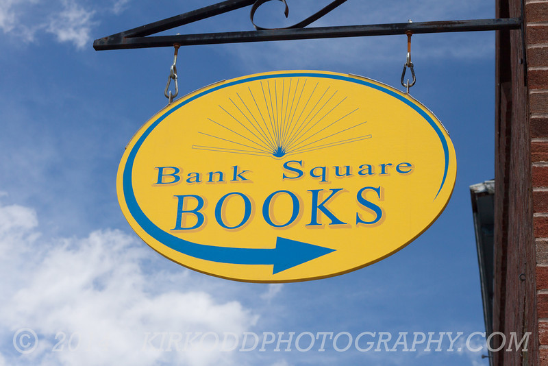 Bank Square Books in Mystic, CT