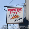 The sign says it all!  This is Mystic Pizza, in Mystic, CT.