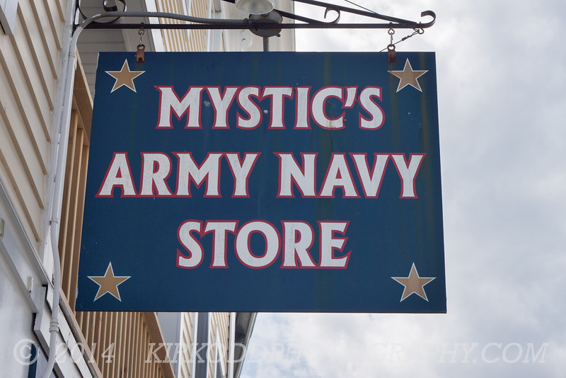 Mystic's Army Navy Store in Mystic, CT