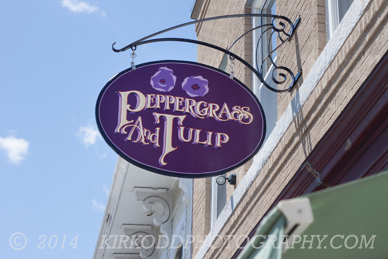 Peppergrass and Tulip Shop, Mystic, CT