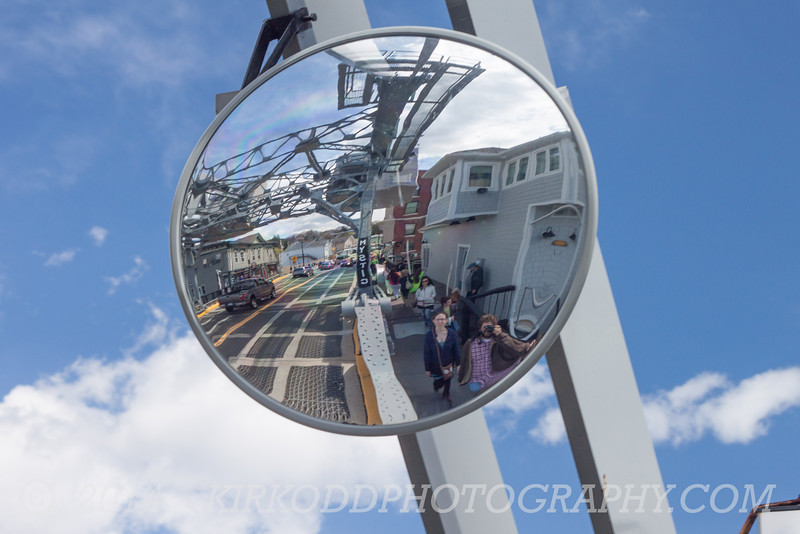 The Mystic Draw Bridge Mirror in Mystic, CT