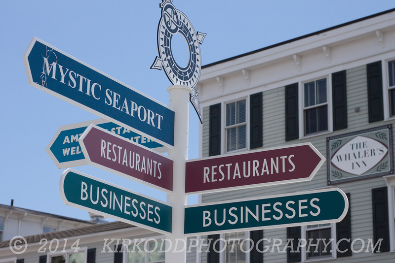Directions in Mystic, CT