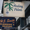 Double signage this time!  Here we have Healing Palms and H.J. Smith Plumbing & Heating.  Both located in: you guessed it!  Mystic, CT!