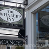 A better sign of The Whaler's Inn in Mystic, CT.