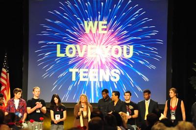 6. Teens Recognition Celebrating
