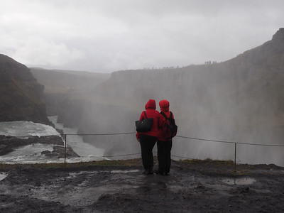 Red Coats and Waterfalls