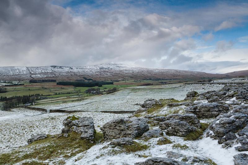 Whernside in Winter.