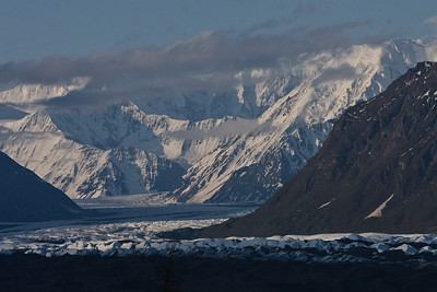 Matanuska Glacier in the early morning