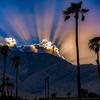 Chino Canyon Sunset