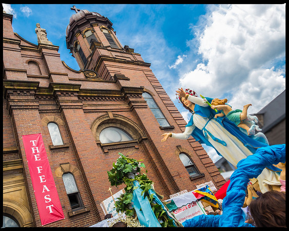 Holy Rosary Church Feast of The Assumption 2014