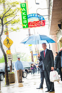 Vice-President Joe Biden's visit to Little Italy Cleveland May 14, 2014